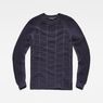 G-Star RAW® Suzaki Moto Knit Dark blue flat front