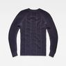 G-Star RAW® Suzaki Moto Knit Dark blue flat back