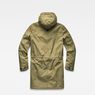G-Star RAW® Strett Sherpa Hooded Parka Green flat back