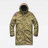 G-Star RAW® Strett Sherpa Hooded Parka Green flat front