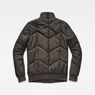 G-Star RAW® Whistler Meefic Quilted Bomber Grau flat back