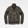 G-Star RAW® Whistler Meefic Quilted Bomber Grey flat front