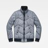 G-Star RAW® Whistler Meefic Quilted Bomber Dark blue flat front