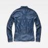 G-Star RAW® Rovic Pleated Denim Shirt Dark blue