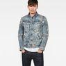 G-Star RAW® Motac Deconstructed 3D Slim Jacket Light blue model front