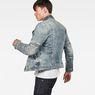 G-Star RAW® Motac Deconstructed 3D Slim Jacket Light blue model side