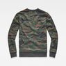 G-Star RAW® Sverre Core Sweat Green flat back