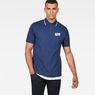 G-Star RAW® Buckston Art Polo Dark blue model front