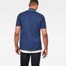 G-Star RAW® Buckston Art Polo Dark blue model back