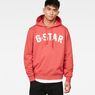G-Star RAW® Halgen Core Hooded Sweat Red model front