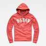 G-Star RAW® Halgen Core Hooded Sweat Red flat front