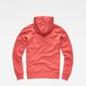 G-Star RAW® Halgen Core Hooded Sweat Red flat back