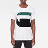 G-Star RAW® Bett T-Shirt Weiß model front