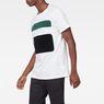 G-Star RAW® Bett T-Shirt Weiß model side