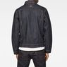 G-Star RAW® 3301 Slim Jacket Dark blue model back