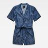 G-Star RAW® Bronson Short Jumpsuit Dark blue flat front