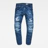 G-Star RAW® 5620 3D Sport Tapered Jeans Medium blue flat front