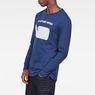 G-Star RAW® Seii T-Shirt Dark blue model side