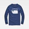 G-Star RAW® Seii T-Shirt Dark blue flat front