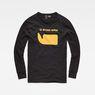 G-Star RAW® Seii T-Shirt Black flat front