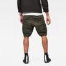 G-Star RAW® Rovic Zip Loose 1/2-Length Shorts Grey model back