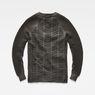 G-Star RAW® Suzaki Moto Knit Grey flat back