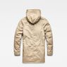 G-Star RAW® Whistler Strett Sherpa Hooded Parka Brown flat back