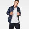 G-Star RAW® Deline Quilted Jacket Dark blue model front