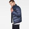 G-Star RAW® Deline Quilted Jacket Dark blue model side