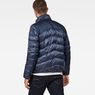 G-Star RAW® Deline Quilted Jacket Dark blue model back