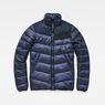 G-Star RAW® Deline Quilted Jacket Dark blue flat front