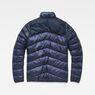 G-Star RAW® Deline Quilted Jacket Dark blue flat back