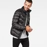 G-Star RAW® Deline Quilted Jacket Schwarz model front