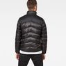 G-Star RAW® Deline Quilted Jacket Schwarz model back