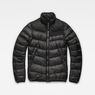 G-Star RAW® Deline Quilted Jacket Black flat front