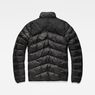 G-Star RAW® Deline Quilted Jacket Schwarz flat back