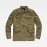 G-Star RAW® Vodan Worker Overshirt Green flat front