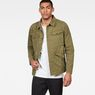G-Star RAW® Vodan Worker Overshirt Green model front