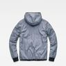 G-Star RAW® Whistler Meefic Padded Hooded Jacket Dunkelblau flat back