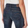 G-Star RAW® Midge Zip Mid Skinny Jeans Dunkelblau