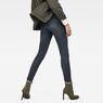 G-Star RAW® 3301 Deconstructed Mid Waist Skinny Jeans Dark blue