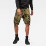 G-Star RAW® Rovic Relaxed 1/2 Shorts Green model front