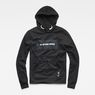 G-Star RAW® Swando Hooded Sweatshirt Black model front