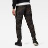 G-Star RAW® Rovic Pm 3D Tapered Pants Green model back