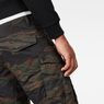 G-Star RAW® Rovic Pm 3D Tapered Pants Green model back zoom