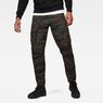 G-Star RAW® Rovic Pm 3D Tapered Pants Green model front