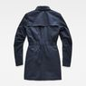 G-Star RAW® Minor Padded Slim Trench Dark blue flat back