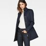 G-Star RAW® Minor Padded Slim Trench Dark blue model front