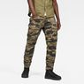 G-Star RAW® Rovic 3D Straight Tapered Pants Green model front