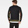 G-Star RAW® Swando Camo Block Sweat Green model back